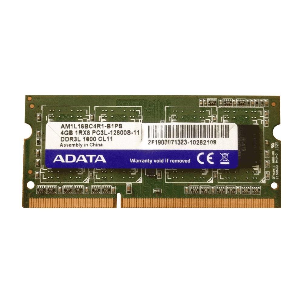 main images رم لپ تاپ ای دیتا مدل DDR3 12800s MHz PC3L ظرفیت 4 گیگابایت