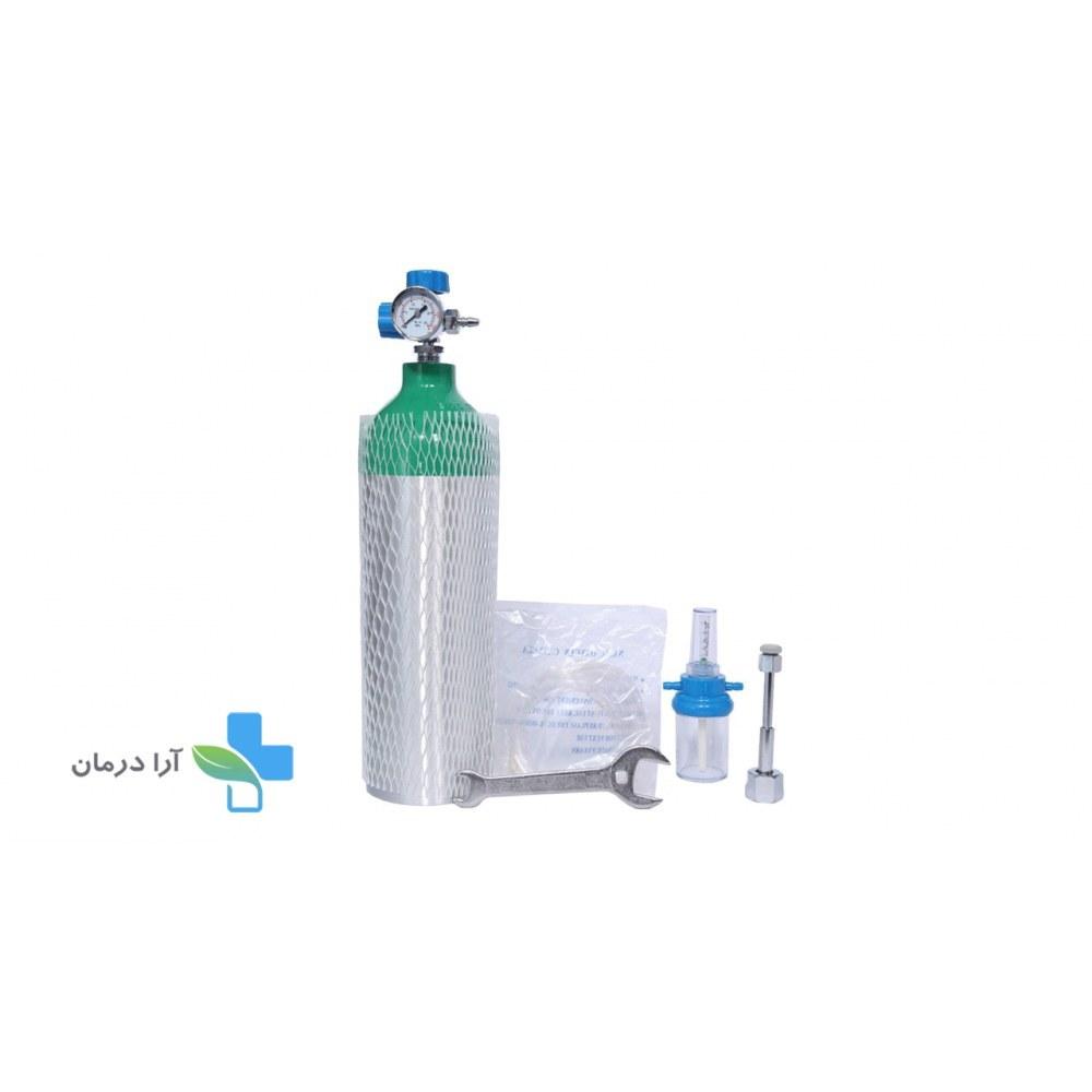 تصویر کپسول اکسیژن آلومینیومی 2 لیتری
