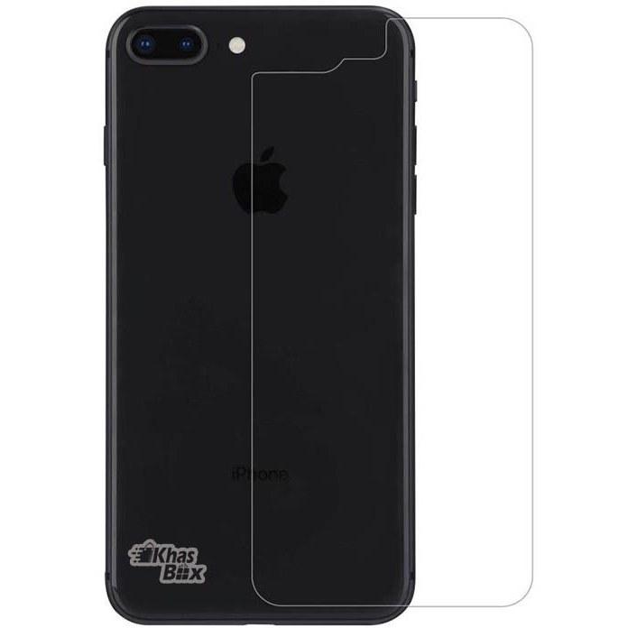 تصویر محافظ ضدضربه (گلس) پشت اپل آیفون 8Plus Apple iphone 8plus Screen Protector (glass) Back