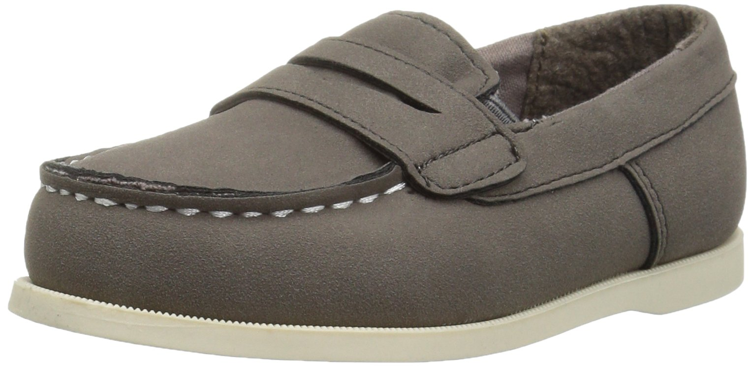 Carter's Kids Boys' Simon4 Slip-on Boat Shoe Loafer |