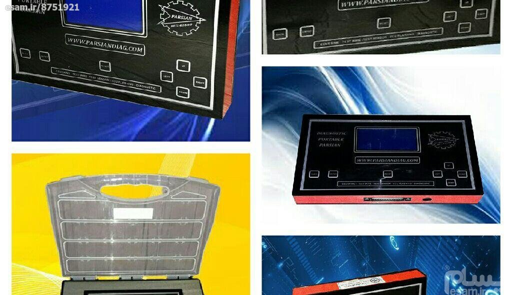 دستگاه شبیه ساز سنسور خودرو | پرتابل دیاگ و تست سیمکشی