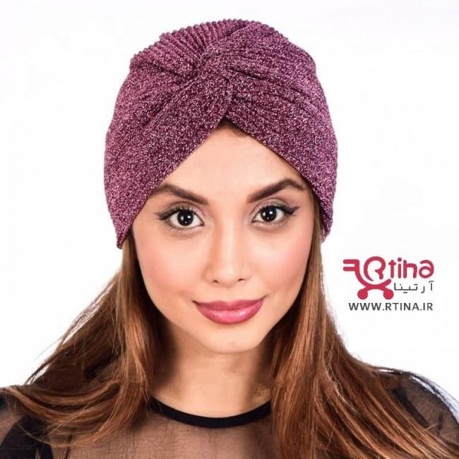 تصویر کلاه با حجاب مجلسی دخترانه و زنانه مدل RT-ARTMIS