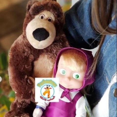تصویر عروسک ماشا و میشا