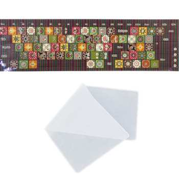 برچسب حروف فارسی کیبورد طرح سنتی به همراه محافظ کیبورد مدل 15-I مناسب برای لپ تاپ 15.6 اینچ |