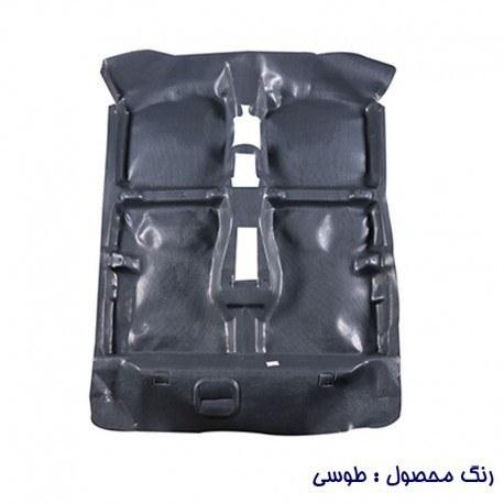 تصویر کفپوش یکپارچه چرمی پراید 131