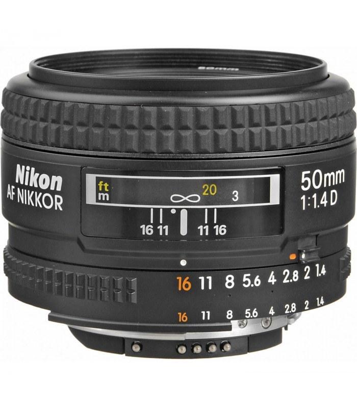 لنز نیکون مدل AF NIKKOR 50mm f/1.4D