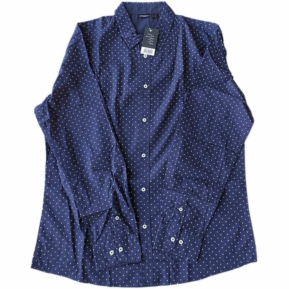 تصویر پیراهن مردانه لیورجی livergy