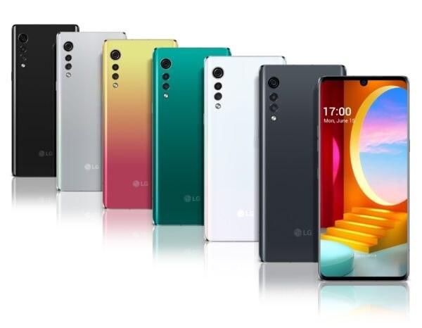 تصویر گوشی موبایل ال جی مدل Velvet LM-G910EMW ظرفیت 128 گیگابایت و رم 6 گیگابایت
