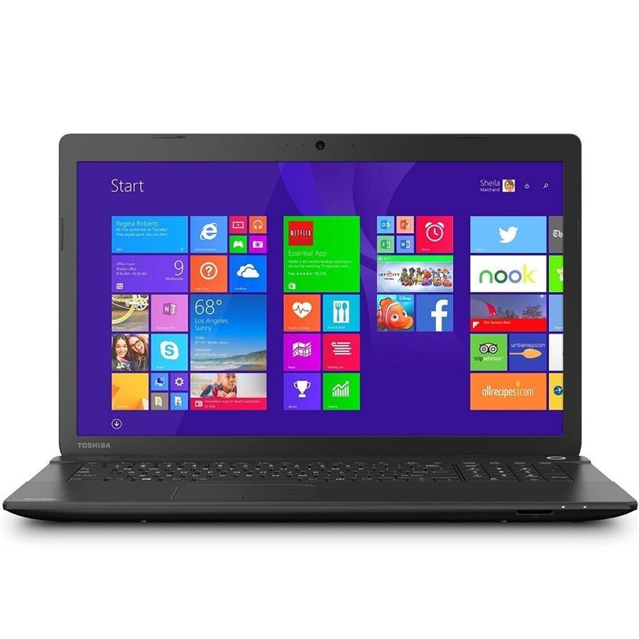تصویر لپتاپ توشیبا مدل  ستلایت سی 75 با پردازنده ای ام دی Toshiba Satellite C75D-C7220X | 17 inch | AMD A6 | 4GB | 750GB | 1GB
