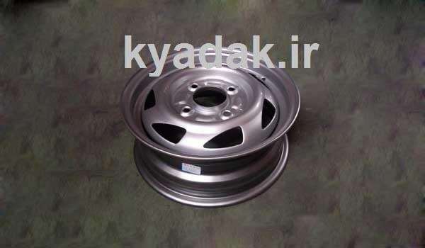 تصویر رينگ چرخ ام وی ام110 فولادی رينگ چرخ ام وی ام 110
