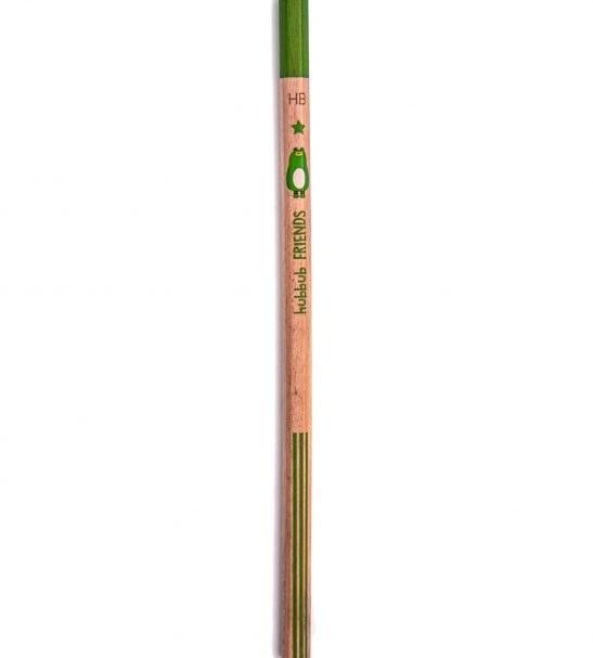 مداد سیاه دلی طرح حیوانات سبز