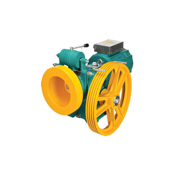 تصویر موتور گیربکس آسانسور  بهران6.1KW