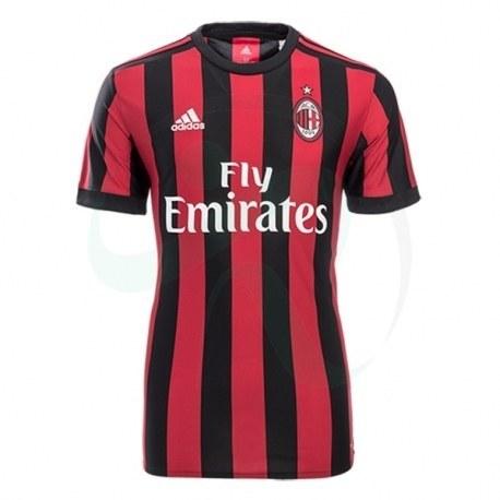 پیراهن اول آ ث میلان AC Milan 2017-18 Home Soccer Jersey