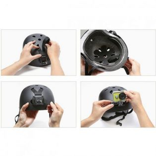 هدبند نگهدارنده دوربین ورزشی روی کلاه شیائومی |