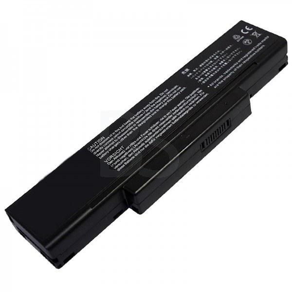 main images باتری لپ تاپ MSI مدل GX600 (برند M&M دارای سلول سامسونگ ساخت کره)