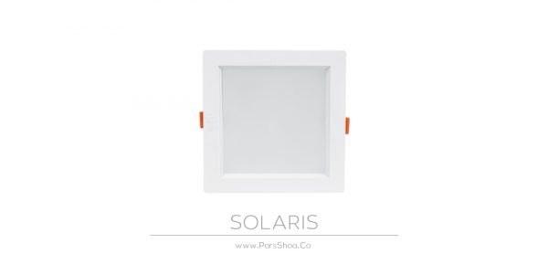 تصویر پنل ال ای دی ۱۸ وات سولاریس مربع پارس شعاع توس SOLARIS