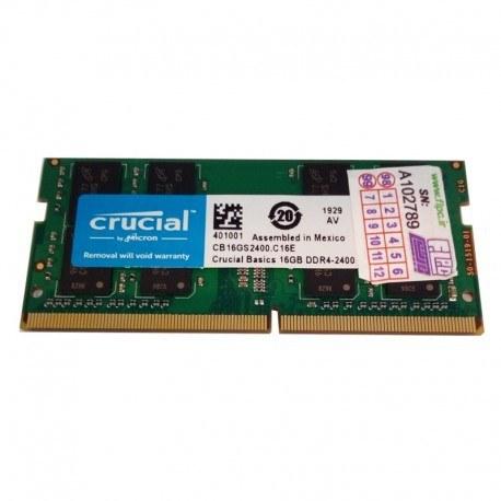 رم لپ تاپ 16 گیگابایت کروشیال Crucial Laptop Ram 16GB DDR4 2400