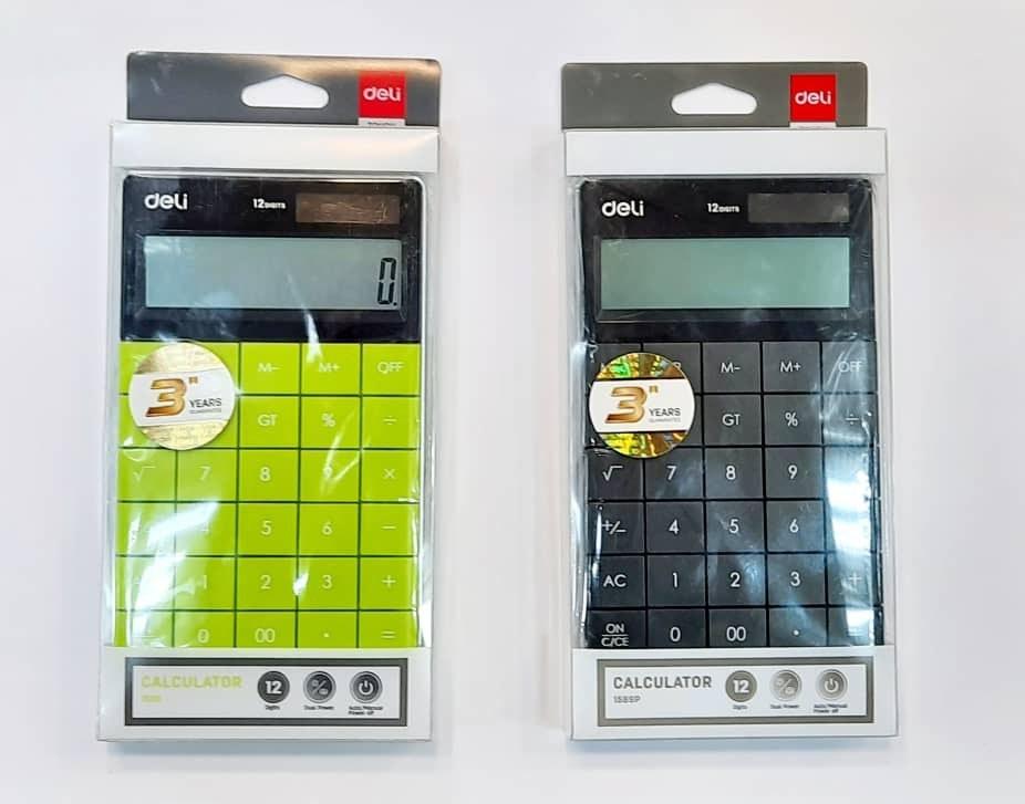 تصویر ماشین حساب دلی مدل 1589 Deli 1589 Calculator
