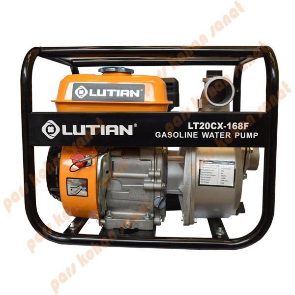 تصویر موتور پمپ 3 اینچ بنزینی لوتین gasoline water pump LT20CX