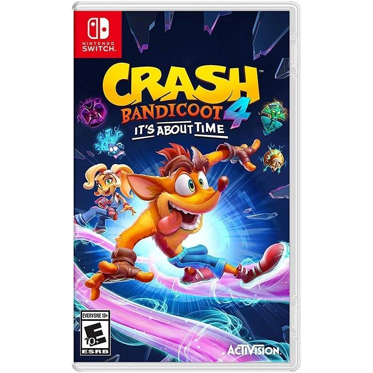 تصویر بازی Crash Bandicoot 4: It's About Time برای Nintendo Switch