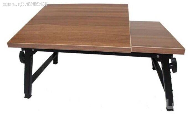 یک میز تاشو با دهها کاربرد متفاوت در محل کار، خانه یا مسافرت | میز تحریر و لپ تاپ تاشو 2 تکه مهر تجهیز سایز متوسط