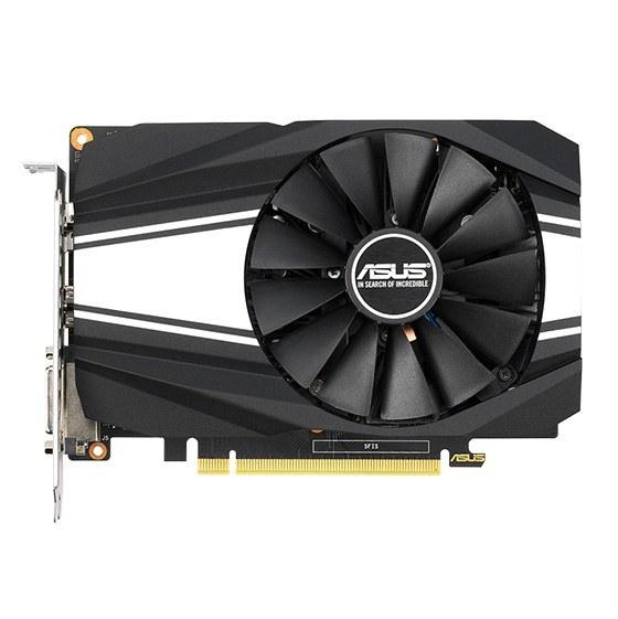 تصویر کارت گرافیک ایسوس مدل PH-GTX1660-O6G حافظه 6 گیگابایت ASUS PH-GTX1660-O6G Graphics Card - 6GB