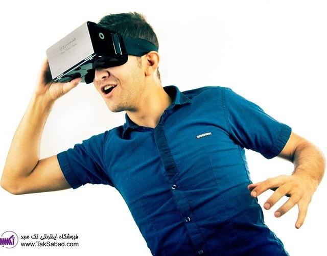 تصویر هدست واقعیت مجازی رویا ا ROYA VIRTUAL REALITY ROYA VIRTUAL REALITY