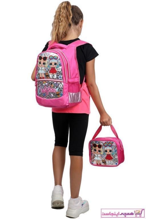 تصویر کیف مدرسه ارزان بچه گانه دخترانه برند Çantaland رنگ نارنجی کد ty44074458