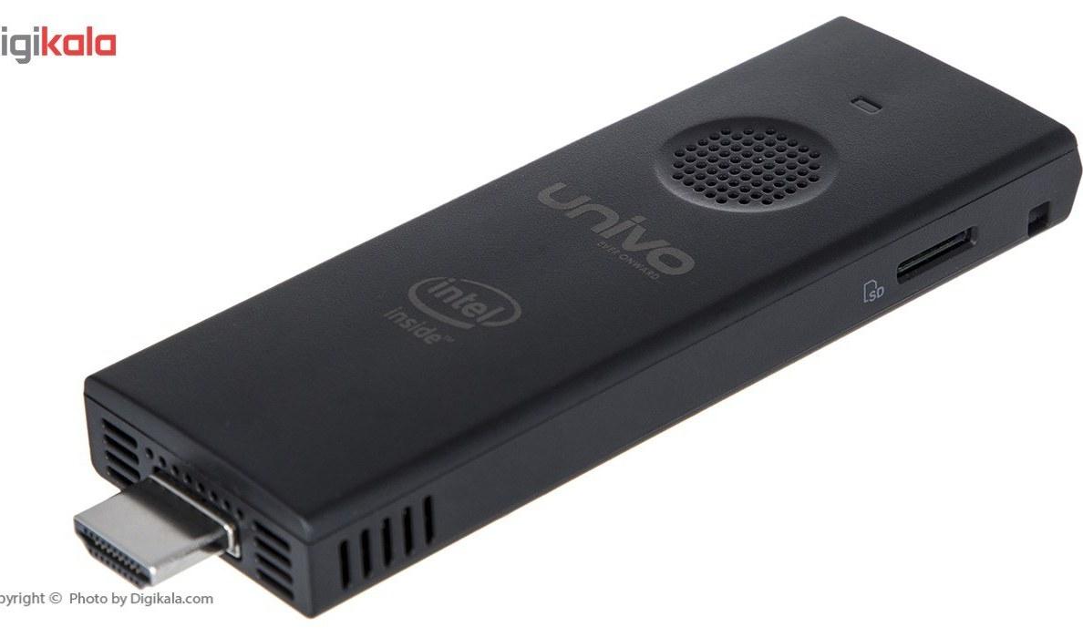 تصویر کامپیوتر کوچک الیت گروپ مدل Univo PS02F Z8350 Elitegroup Univo PS02F Z8350 Mini PC
