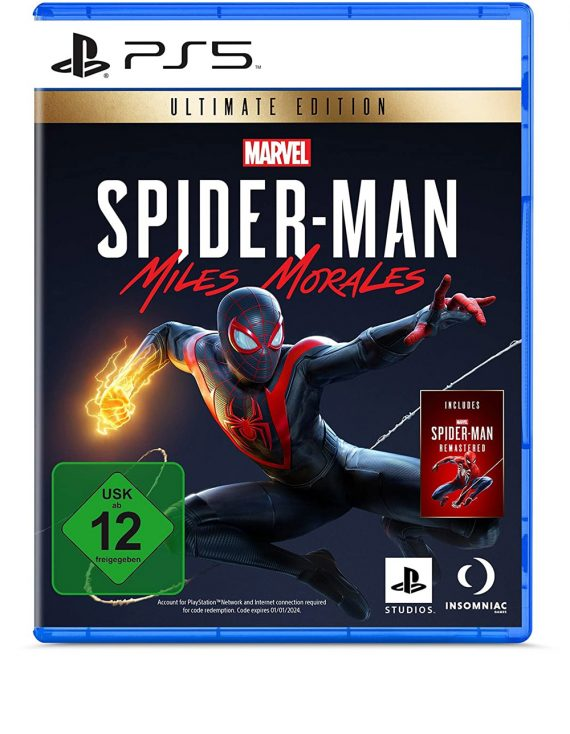 بازی Marvel's Spider-man: Miles Morales Ultimate Edition برای PS5