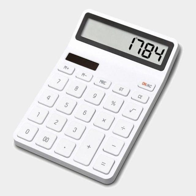 تصویر ماشین حساب الکترونیکی Lemo شیائومی Xiaomi Lemo Desk Electronic Calculator
