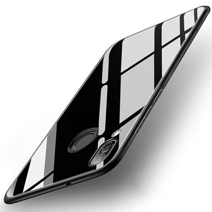 قاب براق پشت طلقی سامسونگ TPU Bright Glass Pattern Case | Galaxy A20 |