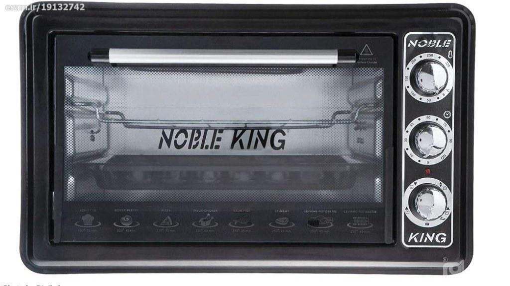 تصویر آون توستر نوبل کینگ مدل NF-1004(اصلی) nobel king oven toster model:NF-1004
