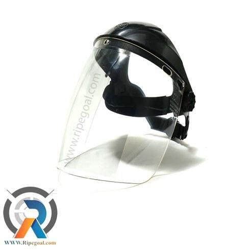 تصویر شیلد(ماسک) کلاه دار محافظ صورت face shield