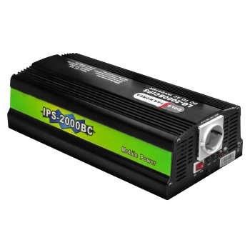 اینورتر شارژر مبدل برق باتری به برق شهر برند گلداستار توان 2kVA مدل LG-2000BC ( مبدل 12 ولت به 220 ولت ظرفیت 2000 ولت آمپر )