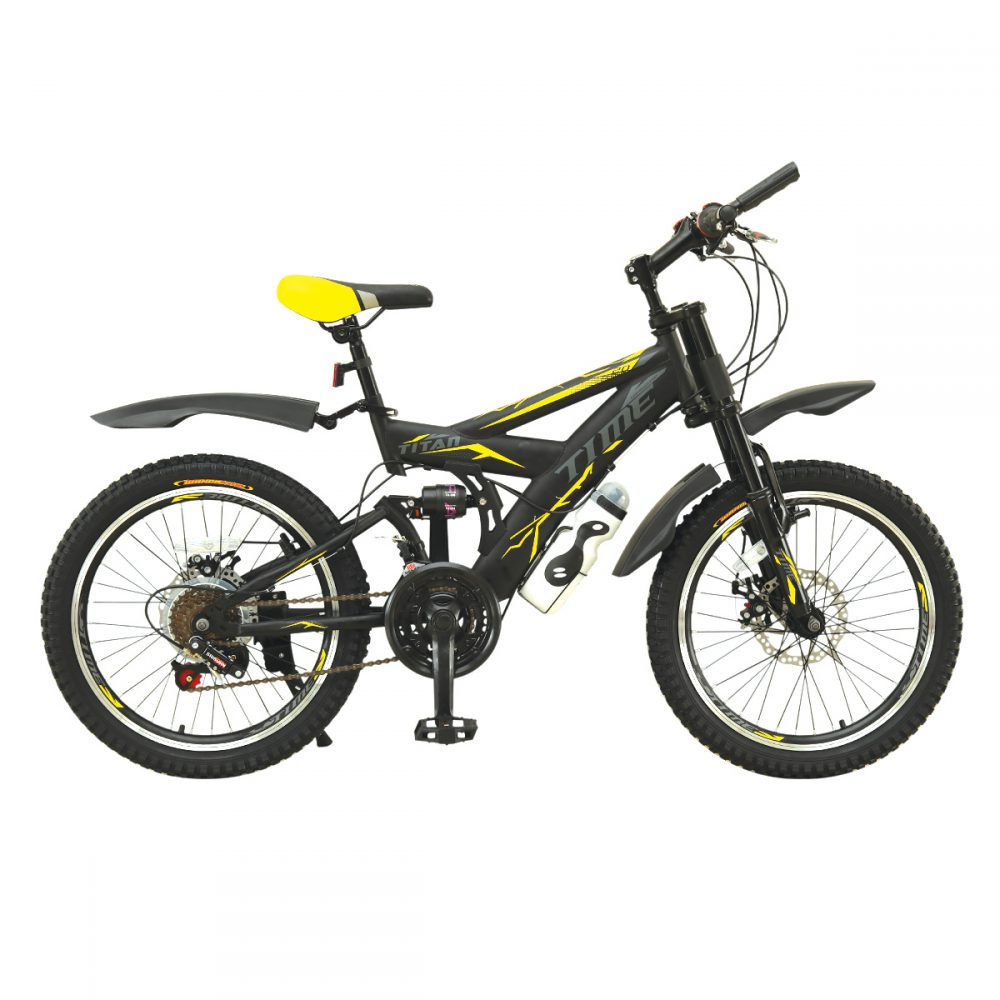 تصویر دوچرخه 20 تایم مدل TITANدنده ای