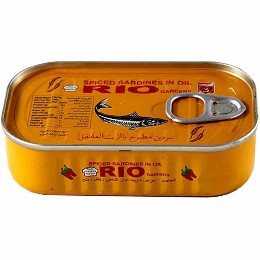 تن ماهی ساردین ریو Rio مدل فلفلی