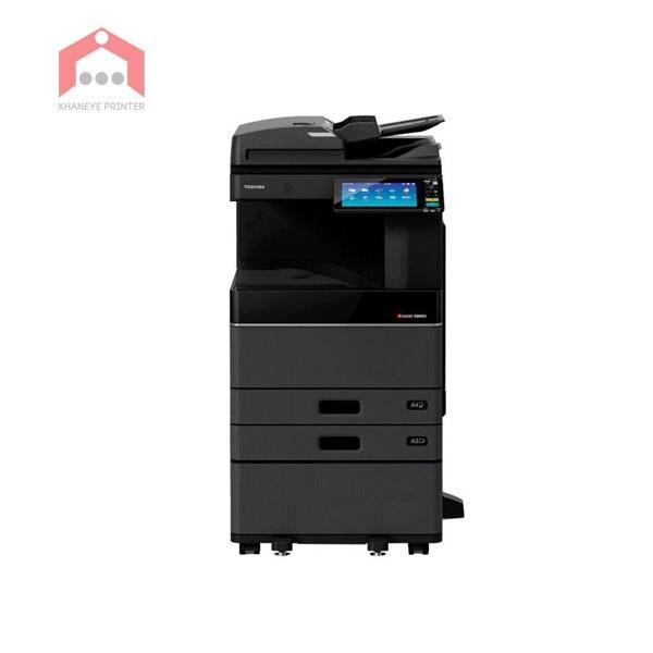 تصویر دستگاه فتوکپی توشیبا E-Studio 3008A قابليت كپی ، اسكن ، چاپ با سرعت بالا - Toshiba Multifunction printer