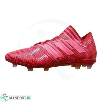 کفش فوتبال آدیداس نمزیز طرح اصلی قرمز Adidas Nemeziz