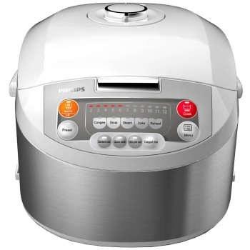 تصویر پلوپز فیلیپس مدل HD3038 Fuzzy Logic Philips HD3038 Fuzzy Logic Rice Cooker