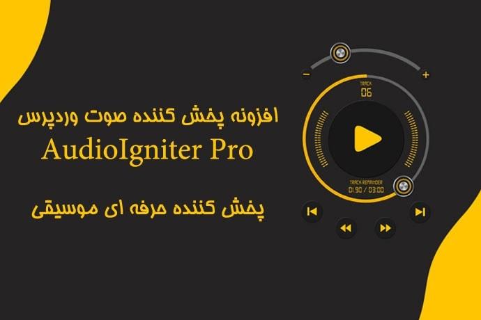 تصویر افزونه پخش کننده صوت وردپرس AudioIgniter Pro