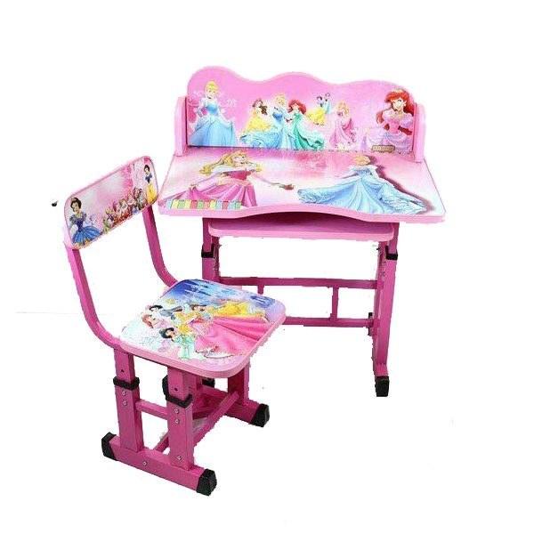 میز تحریر و صندلی کودک Kelvin طرح سیندرلا