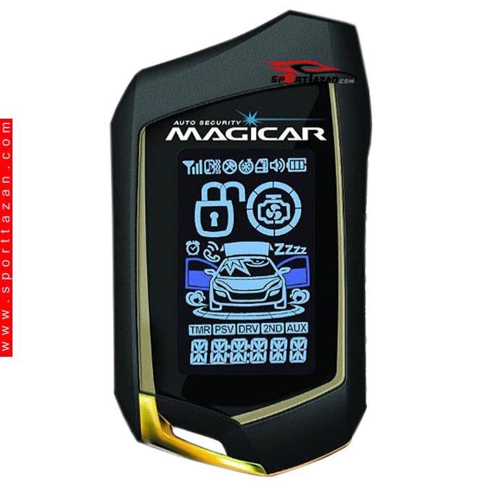 main images دزدگیر تصویری ماجیکار مدل ۱۲۷ طلایی Magicar Car alarm 127 Gold , Silver