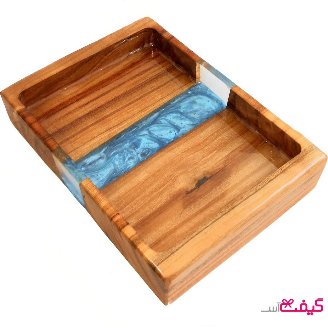تصویر سینی چوبی سرو مدل ab1