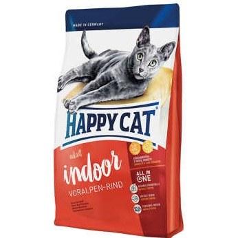 غذای خشک HAPPY CAT INDOOR مخصوص گربه بالغ 1.4 کیلویی