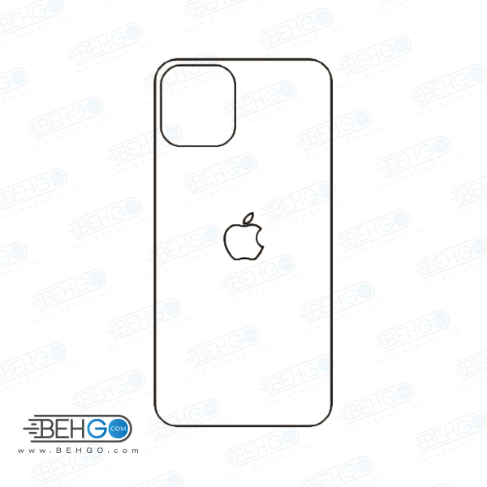 تصویر برچسب پشت آیفون 11 پرو محافظ پشت رنگی و اکلیلی گوشی Apple iphone 11 Pro Back Protector