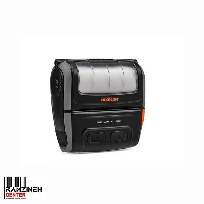 تصویر فیش و لیبل پرینتر بیکسولون قابل حمل – چاپگر سیار Bixolon SPP R410