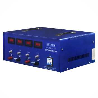منبع تغذیه متغیر دوبل تراکینگ دیجیتال با جریان 15-0 آمپر و ولتاژ 30-0 ولت گلداستار مدل LG17301SL15A ( آداپتور Adaptor مبدل ولتاژ و جریان AC به DC ) دیجی کالا |