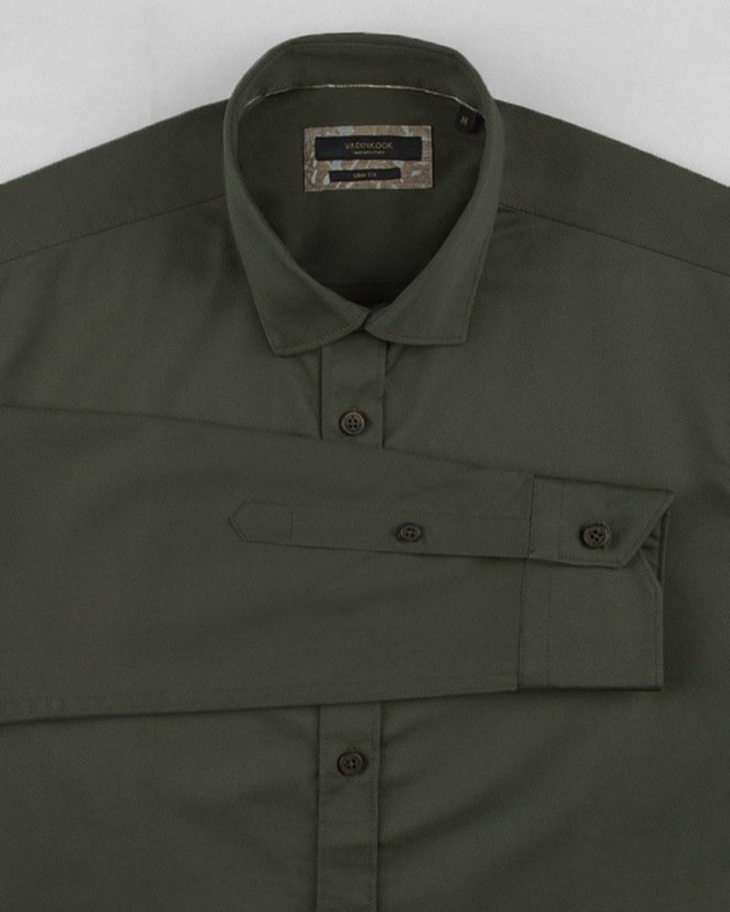 تصویر پیراهن کتان مردانه VK99151