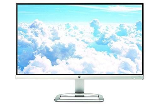 تصویر مانیتور HP مدل 23er سایز 23 اینچ دارای رزولوشن 1920 × 1080 و کیفیت تصویر Full-HD با رنگ سفید HP 23er 23-inch Full HD (1920 X 1080) IPS LED Backlit Zero Bezel Monitor with HDMI & VGA Port (T3M84AA#ABA, White)